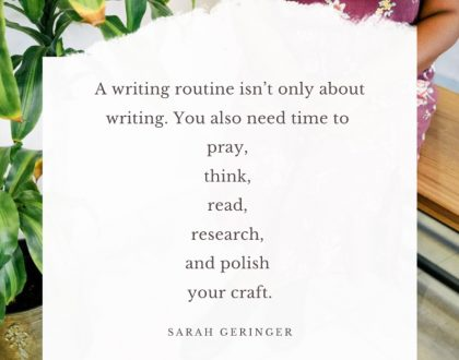 Developing a Writing Routine (We've got a free teaching and helpful resource for you!)