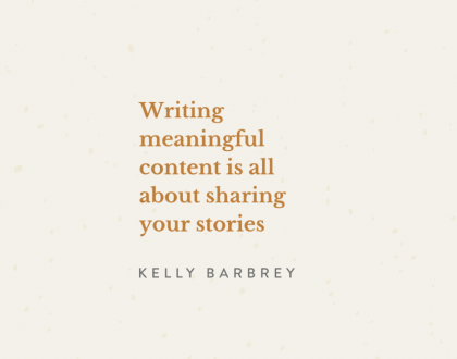 Writing What Resonates