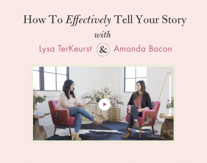 Ever wondered how to effectively tell your story through your writing?