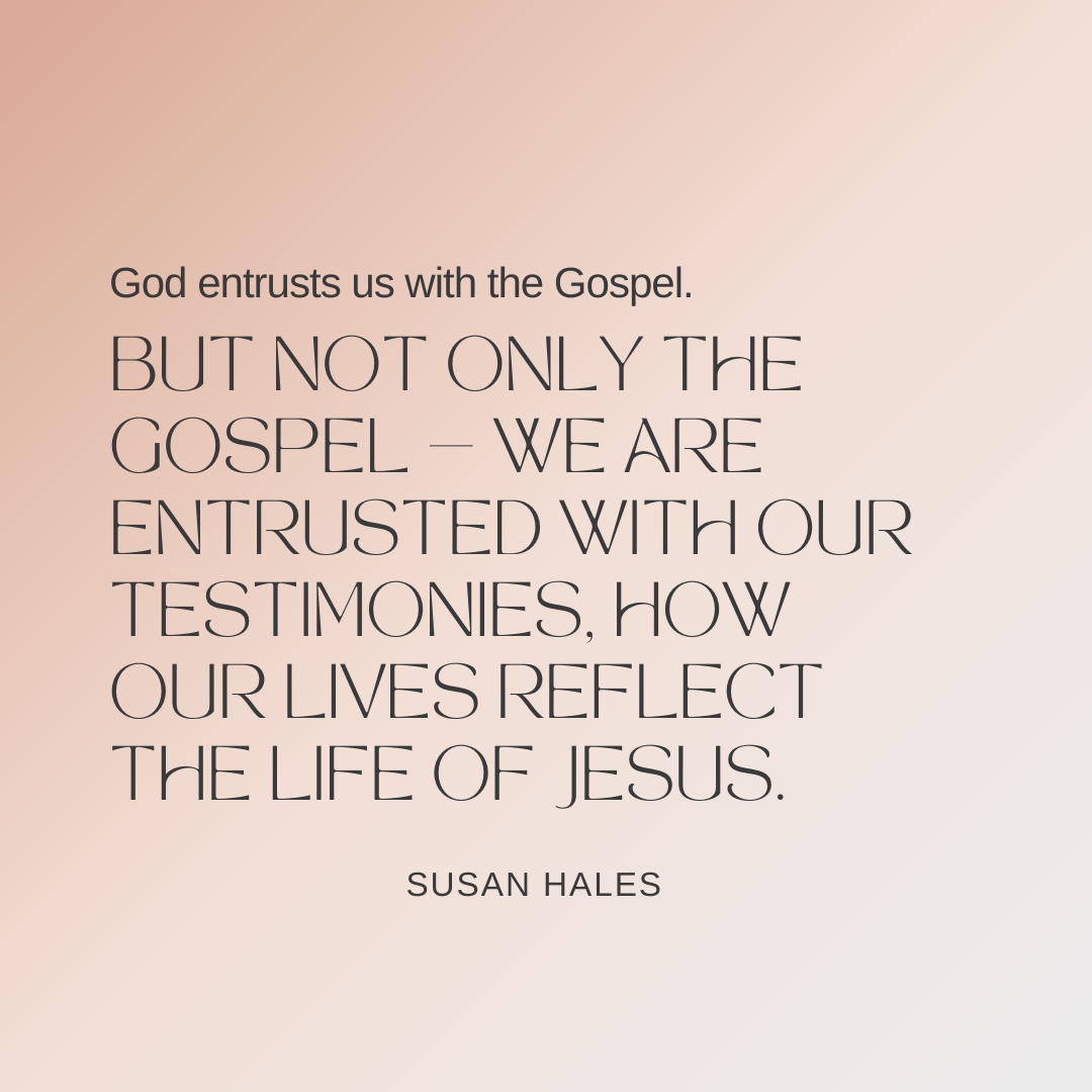 What Is Entrusted to You?
